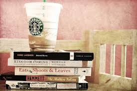 starbucks and books