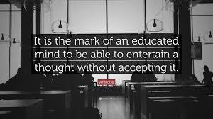 aristotle quote mind